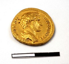 ARCHEOLOGISTS UNEARTH FIRST ANTONIUS PIUS COIN FOUND IN ISRAEL