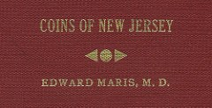 UNIDENTIFIED REPRINTS OF MARIS' COINS OF NEW JERSEY