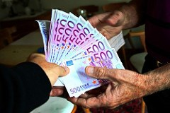 ORGANIZED CRIME AND THE 500 EURO BANKMOTE