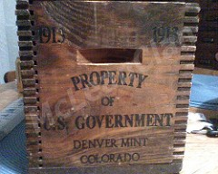 IS IT REAL? A 1913 DENVER MINT SHIPPING CRATE
