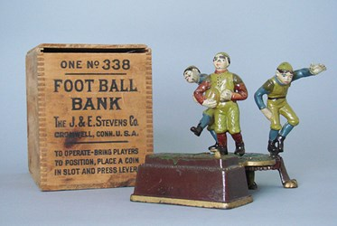 MECHANICAL BANKS BREAK RECORDS AT MARYLAND AUCTION