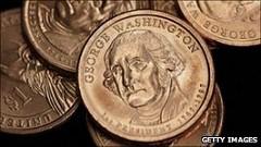 BBC ARTICLE ON THE UNUSED U.S DOLLAR COINS