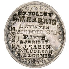 THE ANTHONY TERRANOVA COLLECTION OF COUNTERSTAMPED COINS