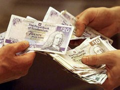 SCOTTISH MINISTER PUSHING ACCEPTANCE OF BANKNOTES IN ENGLAND