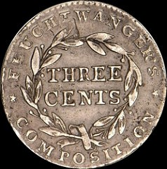 QUERY: WAS BOWERS' THREE CENT FEUCHTWANGER THE STICKNEY SPECIMEN?