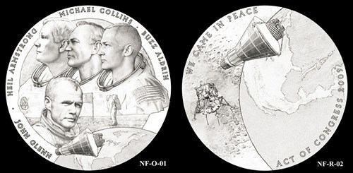 NEW FRONTIER CONGRESSIONAL GOLD MEDAL DESIGNS