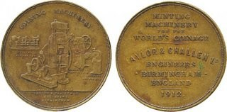 QUERY: TAYLOR & CHALLEN MEDAL INFORMATION SOUGHT