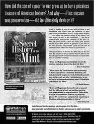 SNEAK PEEK: THE SECRET HISTORY OF THE FIRST U.S. MINT