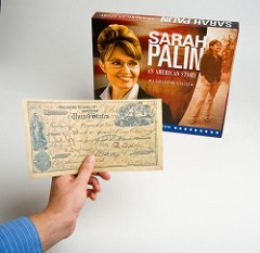 NUMISMATIC CONTENT IN WHITMAN�S PALIN �COLLECTOR�S VAULT� BOOK