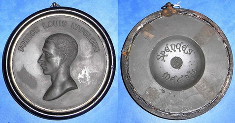 A MEDAL MADE FROM SPENCE'S METAL
