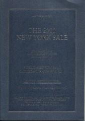KOLBE & FANNING 2011 NEW YORK SALE HIGHLIGHTS