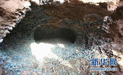 THREE TONS OF SONG DYNASTY COINS FOUND IN CHINA