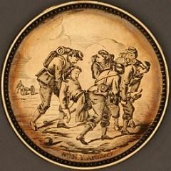 EXHIBIT: HAND-ENGRAVED CIVIL WAR SILVER COINS