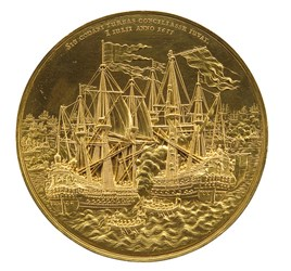 THE MOST BEAUTIFUL DEPICTION OF A SHIP IN NUMISNAUTICS