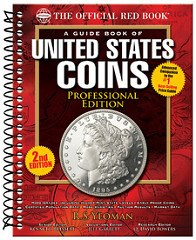 NEW BOOK: A GUIDE BOOK OF U.S. COINS, PROFESSIONAL 2ND EDITION