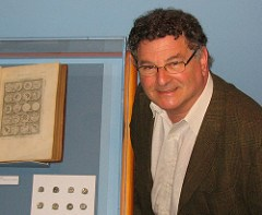 ALAN STAHL RECEIVES ROYAL NUMISMATIC SOCIETY MEDAL