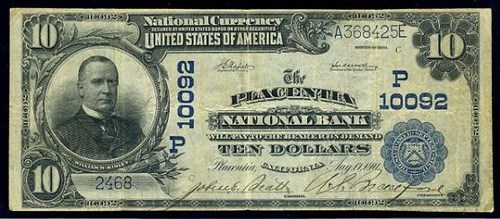 MANLEY SELLS MENTOR'S ORANGE COUNTY NATIONAL BANK NOTES