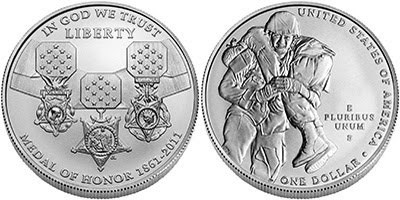 MEDAL OF HONOR COMMEMORATIVE COIN IMAGES RELEASED