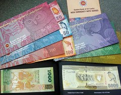 SRI LANKA ISSUES NEW BANKNOTES