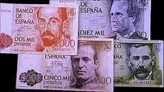 SPAINISH TOWN REINTRODUCES PESETAS TO BOOST ECONOMY