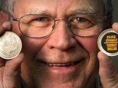 STICKERED SILVER DOLLARS GOT PROMOTER IN HOT WATER