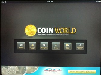 APP REVIEW: COIN WORLD IPAD APP
