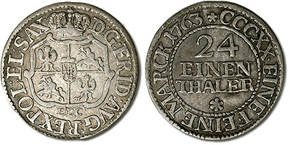 FEATURED WEB PAGE: COINAGE OF SAXONY