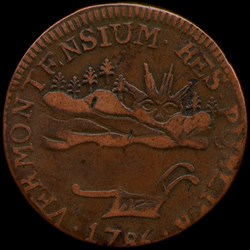 FEATURED WEB PAGE: VERMONT COPPERS 1785-1788