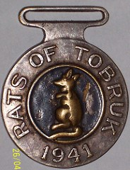 ANOTHER RATS OF TOBRUK MEDAL