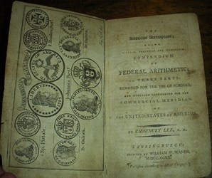 THE AMERICAN ACCOMPTANT: 1797 BOOK USING DOLLAR SIGN