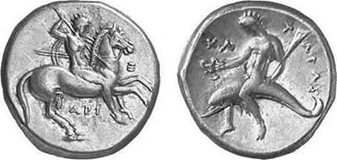 ARISTOTLE (AND MODERN COIN CATALOGERS) WRONGLY DESCRIBE TARENTUM STATER