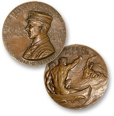 CARPATHIA CAPTAIN'S CONGRESSIONAL GOLD MEDAL FOUND