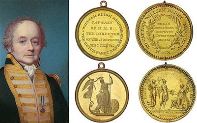 MORE ON CAPTAIN BLIGH'S MEDALS