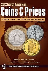 NEW BOOK: 2012 NORTH AMERICAN COINS & PRICES