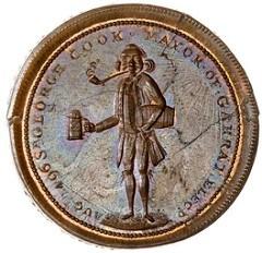 1796 SIR GEORGE COOK CONDER TOKEN