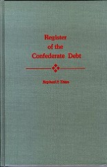 QUERY: REGISTER OF THE CONFEDERATE DEBT INFORMATION SOUGHT