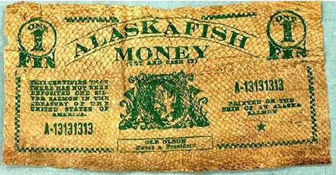 QUERY: ALASKA FISH MONEY INFORMATION SOUGHT