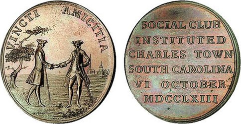 THE ENIGMATIC CHARLES TOWN SOCIAL CLUB MEDAL