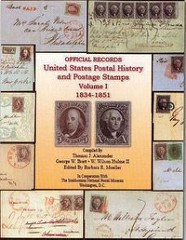 NEW BOOK: U.S. POSTAL HISTORY AND POSTAGE STAMPS 1834-1853