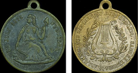 ON GERMAN ANH�NGER OR GOOD FOR MEDALS