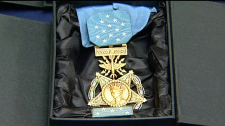 UNISSUED MEDALS OF HONOR TURNED IN TO AUTHORITIES
