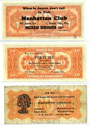 MORE BANKNOTES AS BUSINESS CARDS