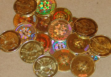 BITCOINS GO FROM VIRTUAL TO PHYSICAL