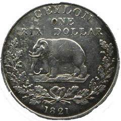 LANGUAGE ON COINS AND CURRENCY OF LANKA