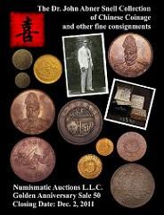 NUMISMATIC AUCTIONS LLC REACHES MILESTONE