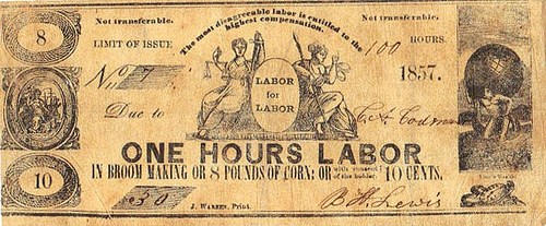 LABOR EXCHANGE NOTE INFORMATION SOUGHT