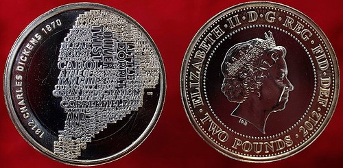 NEW COIN CELEBRATES CHARLES DICKENS' LITERARY LEGACY