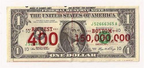 AN OCCUPY MOVEMENT DOLLAR BILL