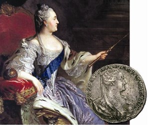 THE 1766 PATTERN ROUBLE OF CATHERINE II