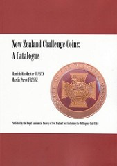 NEW BOOK: NEW ZEALAND CHALLENGE COINS: A CATALOGUE